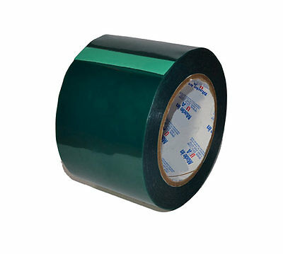 3 Inch x 72 yds - High Temperature Polyester Green Masking Tape for Powder Coat