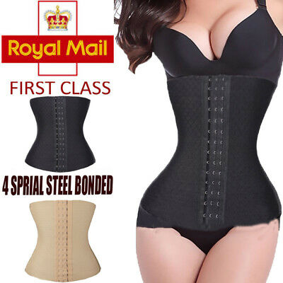 Postpartum Support Recovery Belly Waist Belt Body Shaper Corset Cinhcer UK Wrap