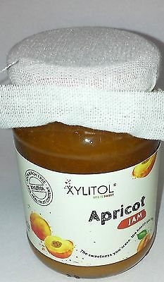 APRICOT JAM sweetened w/ XYLITOL 200g * Diabetic * Sugar and Aspartame Free *