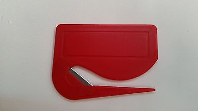 500 WHOLESALE NEW Letter Opener - Red / office supply promotiona5