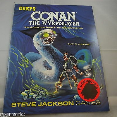 Conan: The Wyrmslayer (GURPS: Generic Universal Role Playing System) TOP