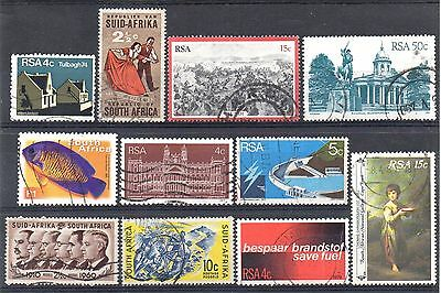SOUTH AFRICA = New selection of FINE USED stamps. (04.11.a)