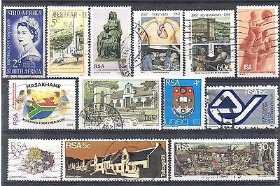 SOUTH AFRICA = New selection of FINE USED stamps. (04.11.e)