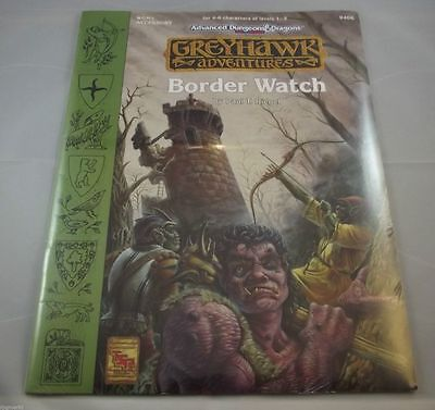 AD&D - Border Watch ( Official Game Adventures) -OVP- -SHRINK-