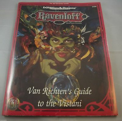 AD&D - Van Richten's Guide to the Vistani (Ravenloft) -OVP- -SHRINK-