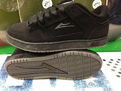 Lakai Commerce Skate Shoe Size 7 Black Nubuck