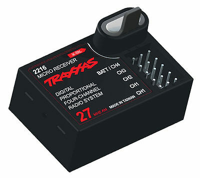 TRAXXAS 2216 4-Channel 27MHz AM Micro Receiver