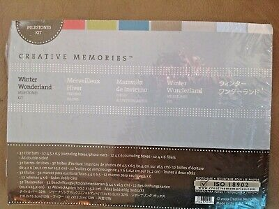 Creative Memories Milestones Album Kit Winter Wonderland Nip Nla