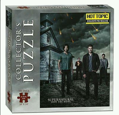 USAopoly Supernatural 550 Piece Puzzle Collectors Edition Hot Topic Exclusive