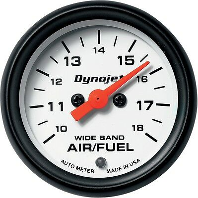 Dynojet Research 15-7018 Air/Fuel Ratio Gauges White Face