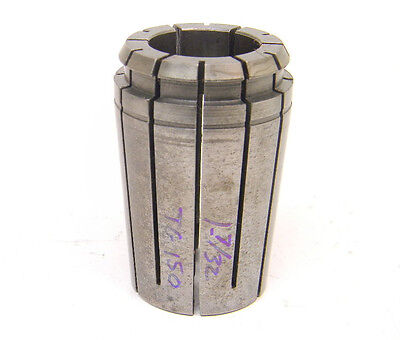 "Well Used Kennametal 1-7/32"" Tg150 Single Angle Collet Tg-150 (1.218"") Erickson"