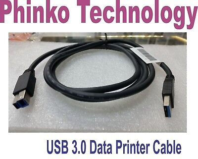 BRAND NEW Super Speed USB 3.0 Type A To B Printer Cable Cord ~1.5M Long