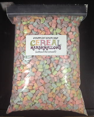 Cereal Marshmallows Without the Cereal (2.5lb Bag) FREE SHIPPING