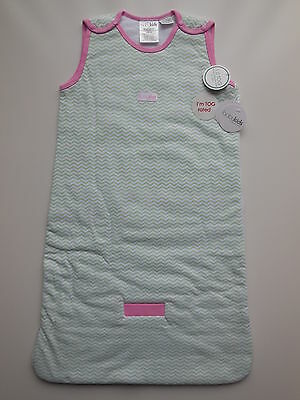 Baby Kids Infant Girl Sleeping Grobag Size 00 Fits 3-6M Tog 1.0 Rrp $47.95 *new