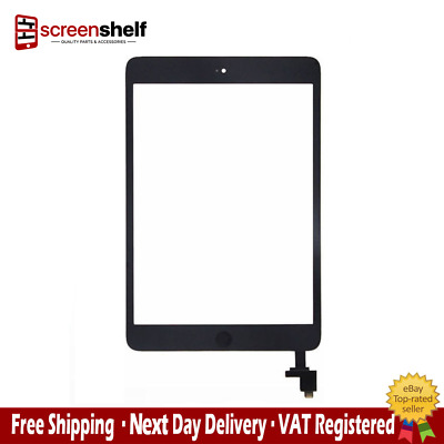 Replacement Touch Glass Digitizer Screen ASSEMBLY for ipad mini 1 or 2 - Black