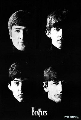 THE BEATLES POSTER 24x36 INCH MUSIC ROCK CONCERT NEW 1 SIDE SHEET WALL PM34