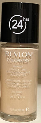 1 x REVLON COLORSTAY 24HR FOUNDATION MAKEUP ❤ COMBINATION/OILY ❤ 110 IVORY