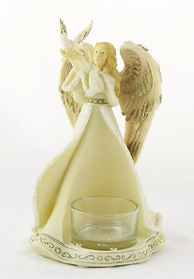 Angel Heavenly Collection Ceramic Tea Light Holder Yankee Candle NEW christmas