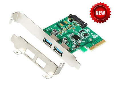 IOCrest 2-Port USB 3.1 Type-A PCI Express (PCIe) Card