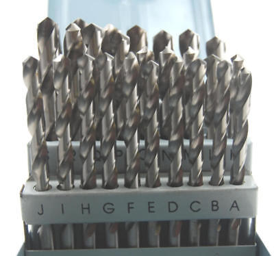 Hss Drill Set A-Z Suit Model Engineer Etc Set Of Letter Drills