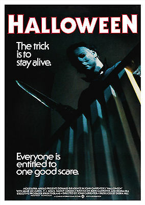 Halloween (1978) V2 - A1/A2 Poster **BUY ANY 2 AND GET 1 FREE OFFER**