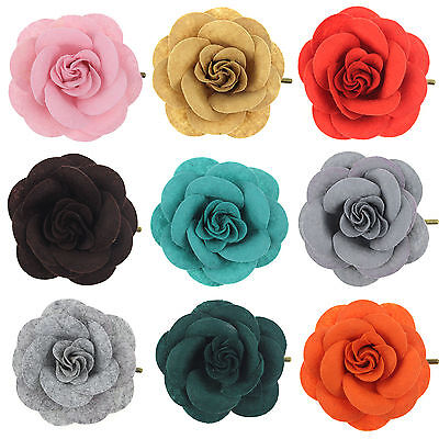 Rose Flower Hairpin Brooch Wedding Bridal/Bridesmaid Party Accessories Hair Clip