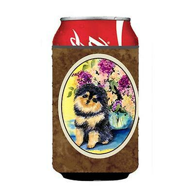 Carolines Treasures SS8290CC Pomeranian Can Or bottle sleeve Hugger 12 oz.