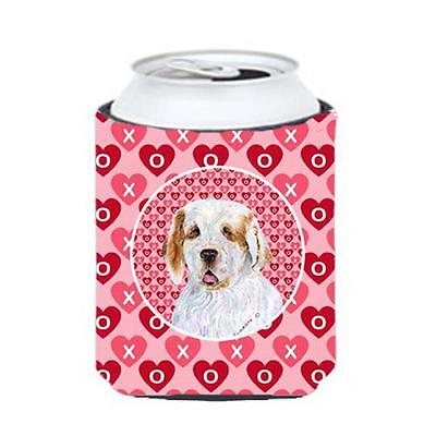 Carolines Treasures SS4500CC Clumber Spaniel Can Or bottle sleeve Hugger 12 oz.