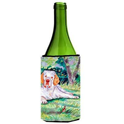 Carolines Treasures 7113LITERK Clumber Spaniel Wine bottle sleeve Hugger 24 oz.
