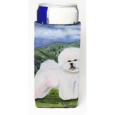 Carolines Treasures SS8025MUK Bichon Frise Michelob Ultra s For Slim Cans 12 oz.