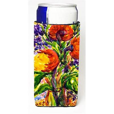 Carolines Treasures 6074MUK Flower Michelob Ultra s For Slim Cans 12 oz.