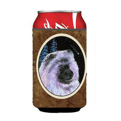 Carolines Treasures SS8412CC Starry Night Keeshond Can Or bottle sleeve Hugger • AUD 45.90