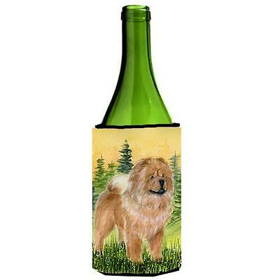 Carolines Treasures SS7004LITERK Chow Chow Wine bottle sleeve Hugger 24 Oz.