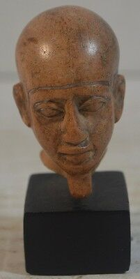 Ancient Egyptian Ceramic Head Antiquity Pottery