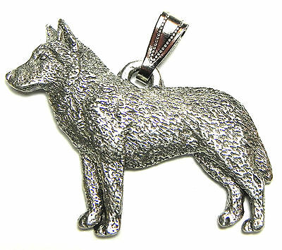 Siberian Husky Pendant Dog Harris Fine Pewter Made in USA jewelry
