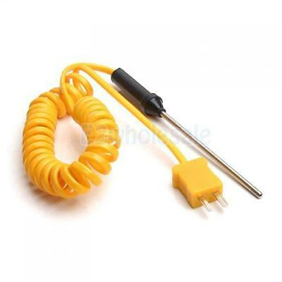 """Digital Thermocouple Thermometer Sensor 60"""" Cable Probe K-Type -50 to 300°C"""
