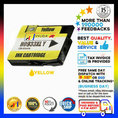 1x Compatible Ink Cartridge HP 932XL 933 933XL for Officejet 7610 7612 GIX85A