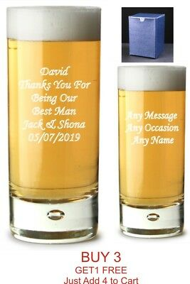 Personalised Engraved Highball Mums Vodka Glass Birthday gifts, gift boxed