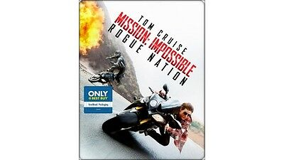 Mission: Impossible - Rogue Nation steelbook Blu-ray DVD  best buy
