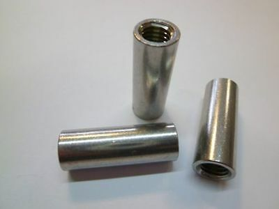 Threaded connector For mother Socket M 6 - M16 stainless steel A2 V2A