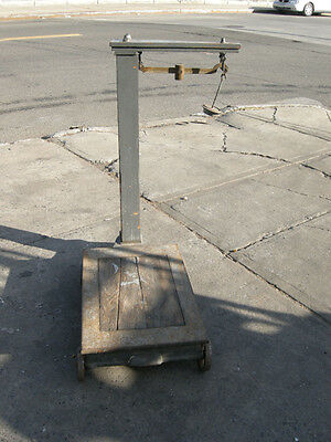 Antique Floor Scale Approx 60 years old Used