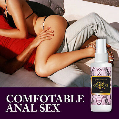 Agent Seduction Anal Comfort Spray – Relaxes Your Bum Ready For Anal Sex