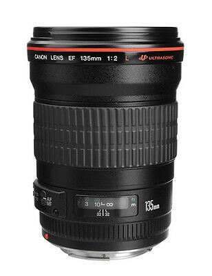 Canon EF 135mm F2 L USM Telephoto Lens (Express Shipping)