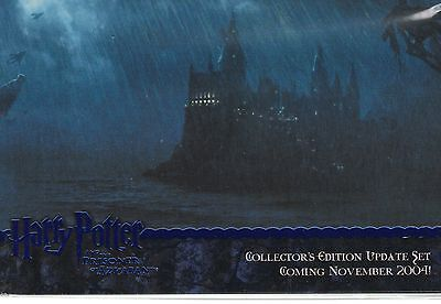 Harry Potter Prisoner of Azkaban Update 4 Card Blue Foil Promo Set