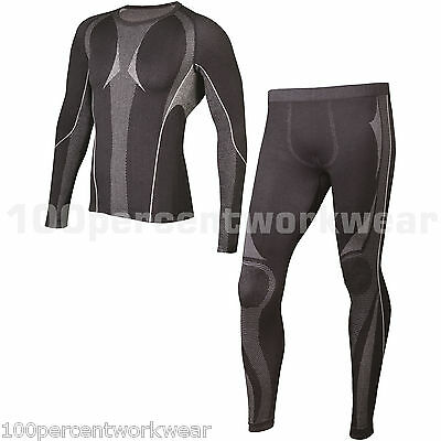 Delta Plus KOLDY Mens Thermal Underwear Set Long Johns and Top Winter Warm Work