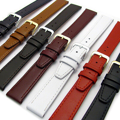 CONDOR Calf Leather Watch Strap 124R 16mm 18mm 20mm 7 Colours