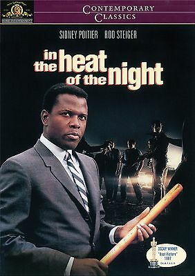 IN THE HEAT OF THE NIGHT New Sealed DVD Sidney Poitier Rod Steiger