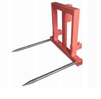 Bale Fork Spear 3 Point link Farm Tractor  1000 Kg Part No = FIBS2200