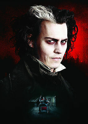 Sweeney Todd The Demon Barber Of Fleet Street (2007) - A1/A2 Poster *SEE OFFER*