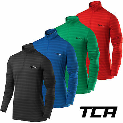 Men's TCA Infinity Half Zip Long Sleeve Running Jogging Winter Run Gym Sport Top